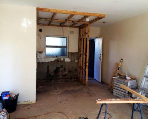 Construction-false-ceiling-nib-wall-Manly-3
