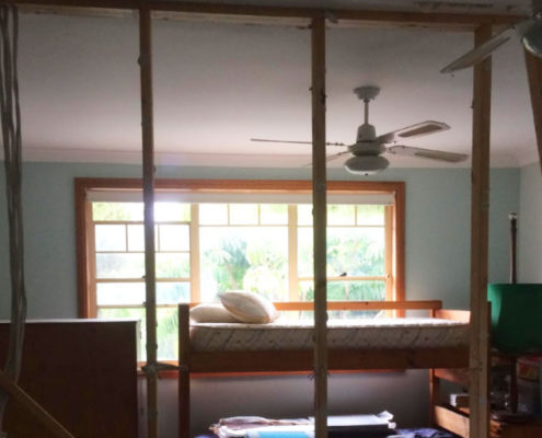 Framing-and-installation-new-wall-door-Freshwater-1