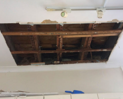 plasterboard-water-damage-fairlight-3